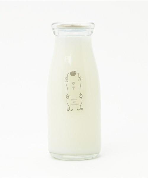 あっ、飲んじゃダメ! ふんわりと部屋を香りづける「牛乳瓶に入った消臭芳香剤」 2番目の画像