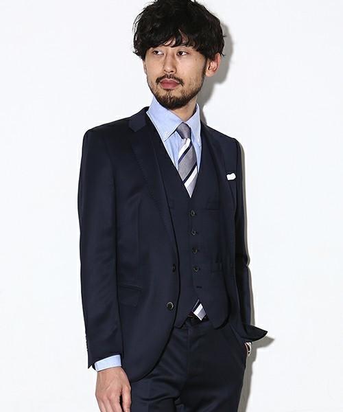 【完全版】王道「ネイビースーツ」の着こなし術:ネイビースーツの基礎からワンランク上のおしゃれまで 1番目の画像
