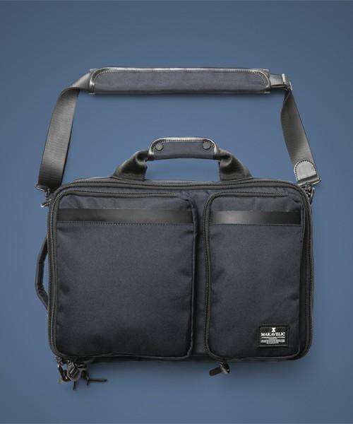 リュックで快適な通勤スタイル! スーツに似合う上質な3WAYバッグ 9番目の画像