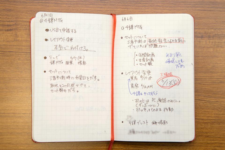"""「ノート、見せてもらってイイですか?」:キングジムに学ぶ""""社会人のためのノート術"""" 6番目の画像"""