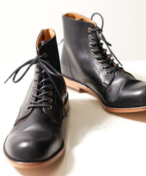 ブーツなのに履きやすい!日本発ブランドの人気メンズブーツ5選 2番目の画像