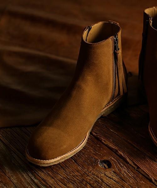 ブーツなのに履きやすい!日本発ブランドの人気メンズブーツ5選 1番目の画像