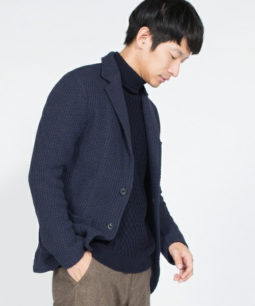1万円台の救世主。羽織ればモテるSHIPSの最強ニットジャケット&着こなしテク 8番目の画像