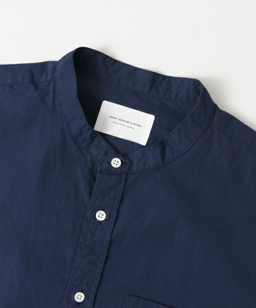 ファッショニスタはこれを着ていた!まわりと差がつくバンドカラーシャツ特集 1番目の画像