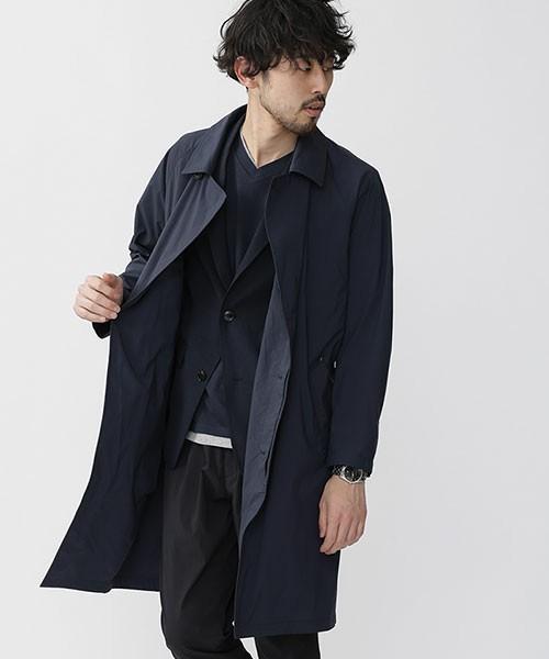 秋冬欠かせない「ステンカラーコート」を人気ブランド別コーディネートでチェック! 2番目の画像