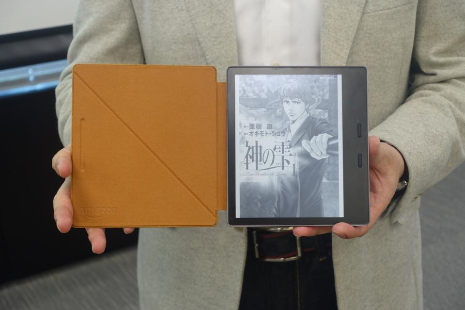 西田宗千佳のトレンドノート:Kindle日本参入5周年! 防水の新型投入で「読書への没入」を狙う 2番目の画像