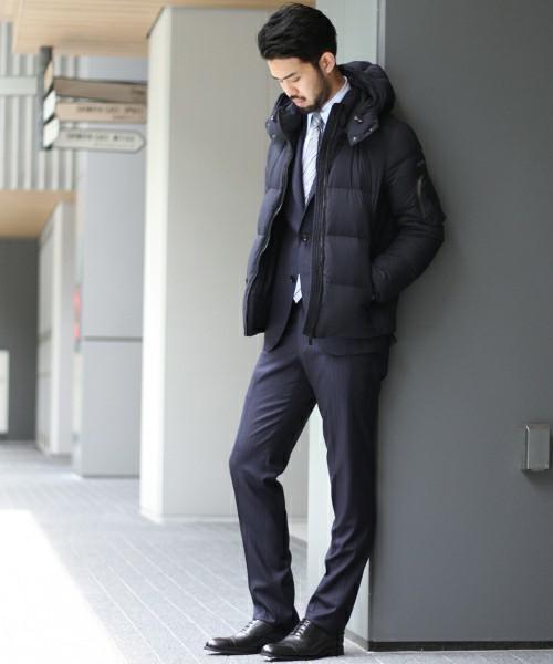 【2017年秋冬】ふんわり暖かいビジネスアウターの着こなし術〈防寒編〉 2番目の画像