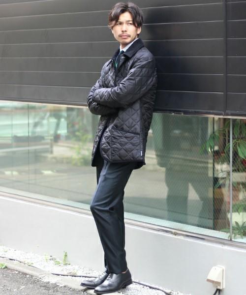【2017年秋冬】ふんわり暖かいビジネスアウターの着こなし術〈防寒編〉 8番目の画像