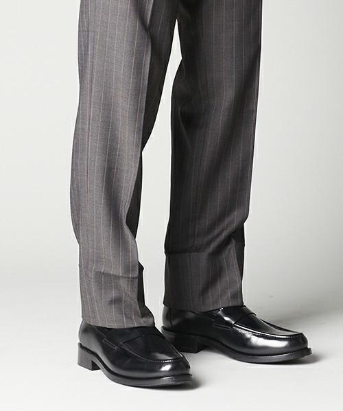 今、Uチップはスーツに合わせる!最旬パンツとUチップの関係 1番目の画像