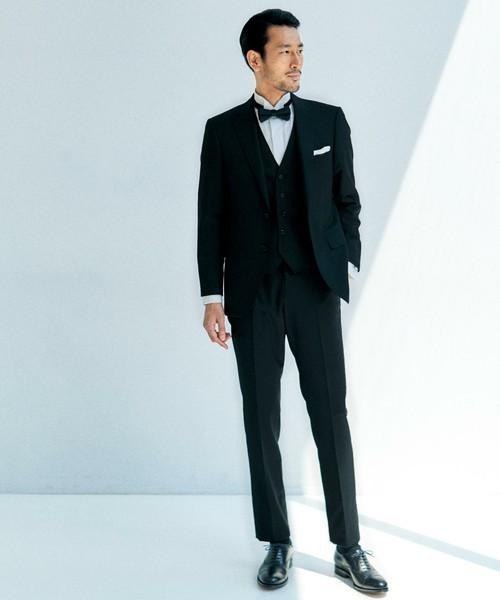 お洒落にスーツ×ベストを着こなすコツ。スーツ×ベストのおすすめコーデ集. 結婚式