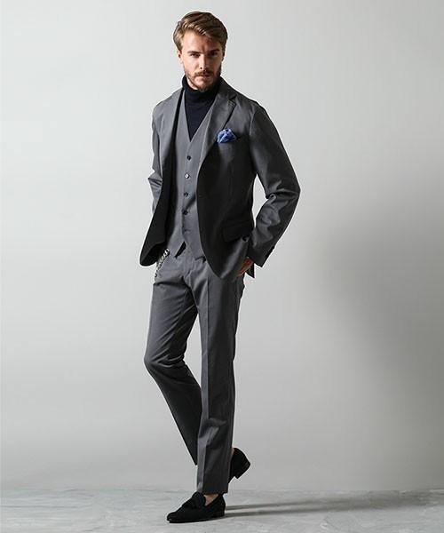 お洒落にスーツ×ベストを着こなすコツ。スーツ×ベストのおすすめコーデ集 3番目の画像