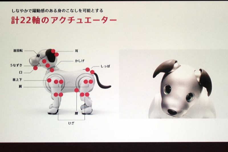 西田宗千佳のトレンドノート:ソニーaibo復活の裏にある「メカ屋の魂」 4番目の画像