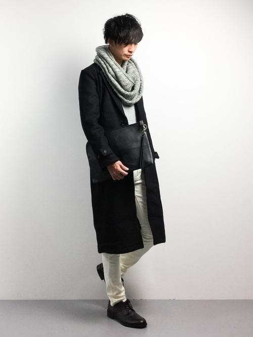 エレガントなのに男っぽい。チェスター&ステンカラーのロングコート着こなし術 5番目の画像