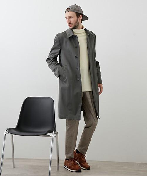 エレガントなのに男っぽい。チェスター&ステンカラーのロングコート着こなし術 8番目の画像