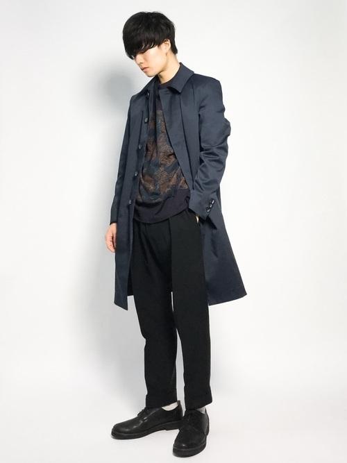 エレガントなのに男っぽい。チェスター&ステンカラーのロングコート着こなし術 9番目の画像