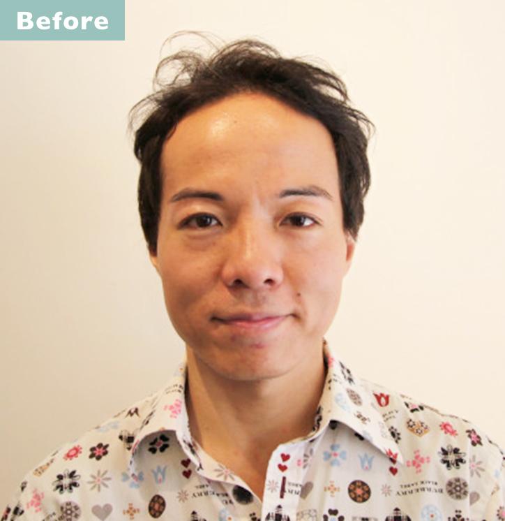 【プロが監修】薄毛をカバーできる髪型に変身!ハゲのタイプ別ヘアカタログ「広くなったおでこ」 2番目の画像