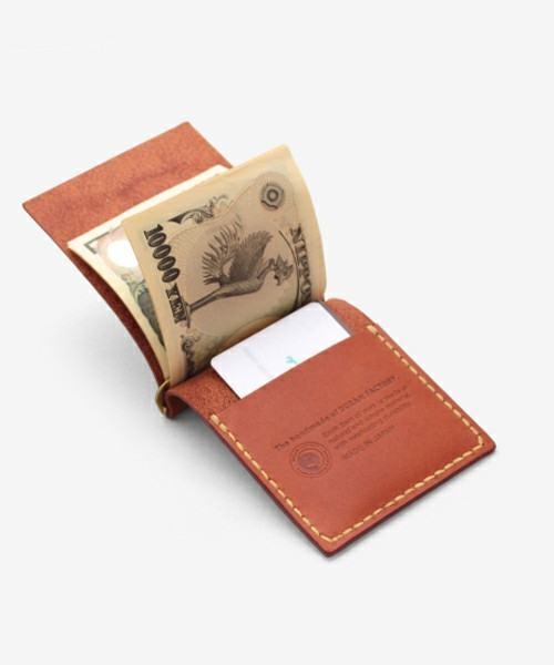 """""""財布""""はこんなに薄くなる!スマートシンプルな大人の男のための「マネークリップ」特集 6番目の画像"""