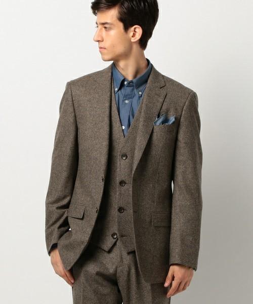秋冬スーツの新定番「ブラウンスーツ」:ブラウンスーツのおしゃれな着こなしでワンランク上を目指す 4番目の画像