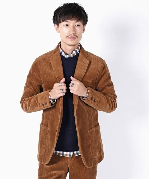 セーター×シャツ×ジャケットのビジカジメンズコーデ集 3番目の画像