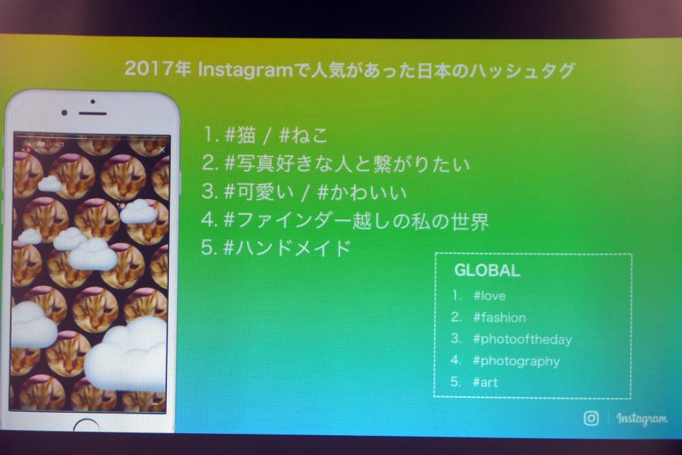 「インスタ映え」な1年だったFacebook、手ごたえある2017年の事業展開を振り返る 9番目の画像
