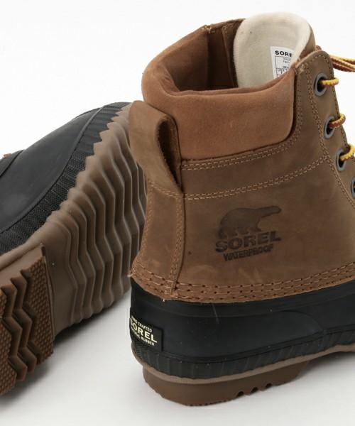 街で履くアウトドアブーツはこれ!暖かくて快適なSORELの冬用ブーツ特集 5番目の画像