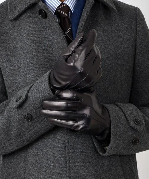 秋冬スーツのお供「メンズ手袋」を展開するブランド3選。スーツスタイルをかっこよく、あったかく。 4番目の画像