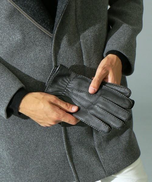 秋冬スーツのお供「メンズ手袋」を展開するブランド3選。スーツスタイルをかっこよく、あったかく。 2番目の画像
