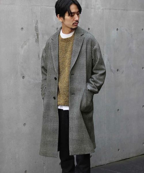シックな魅力がたまらないクラシックアウター。おすすめのグレンチェックコートと着こなし術 1番目の画像