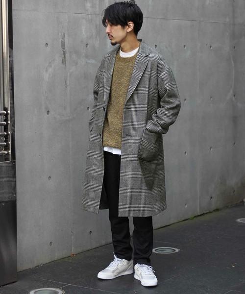 シックな魅力がたまらないクラシックアウター。おすすめのグレンチェックコートと着こなし術 4番目の画像