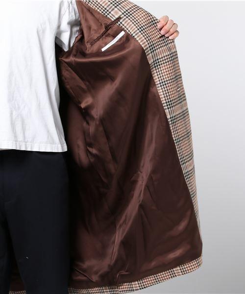 シックな魅力がたまらないクラシックアウター。おすすめのグレンチェックコートと着こなし術 5番目の画像