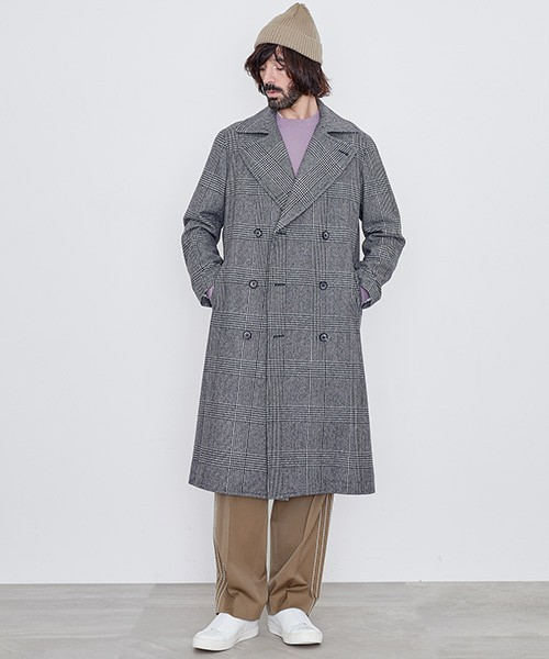 シックな魅力がたまらないクラシックアウター。おすすめのグレンチェックコートと着こなし術 9番目の画像