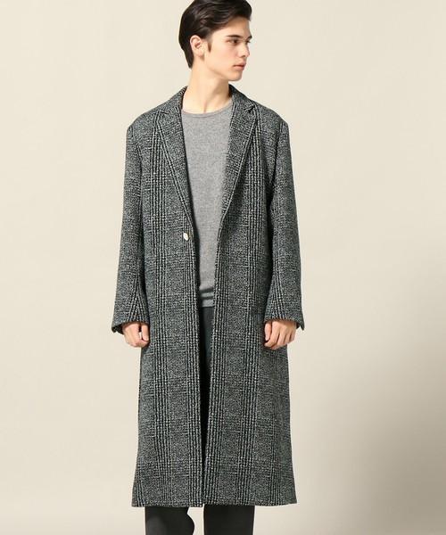 シックな魅力がたまらないクラシックアウター。おすすめのグレンチェックコートと着こなし術 10番目の画像