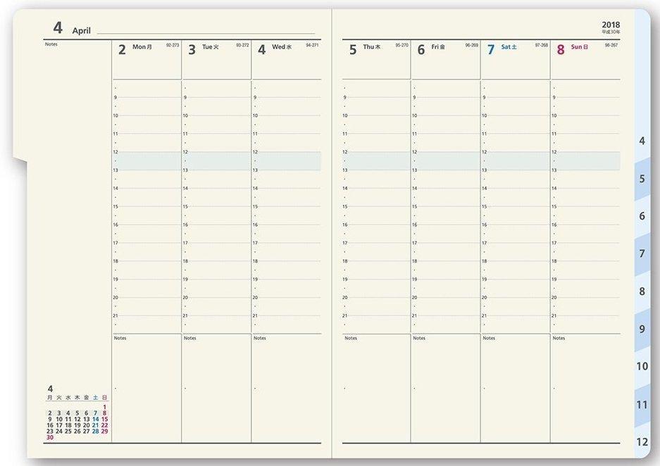 知って得する手帳の効果的な使い方。月ならマンスリー、週はレフト、日ならバーティカルを選べ! 4番目の画像