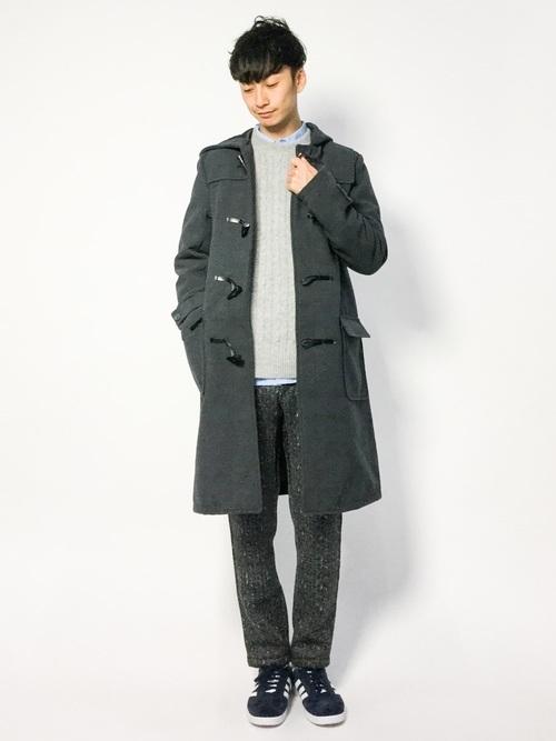 「大人だからこそ」のダッフルコート。子どもっぽくならない、メンズダッフルコートの着こなし術 7番目の画像