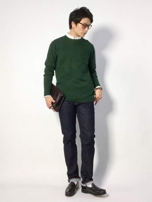 ニット×シャツの着こなしで他のメンズに差をつけろ! ニット×シャツのコーディネート術 6番目の画像