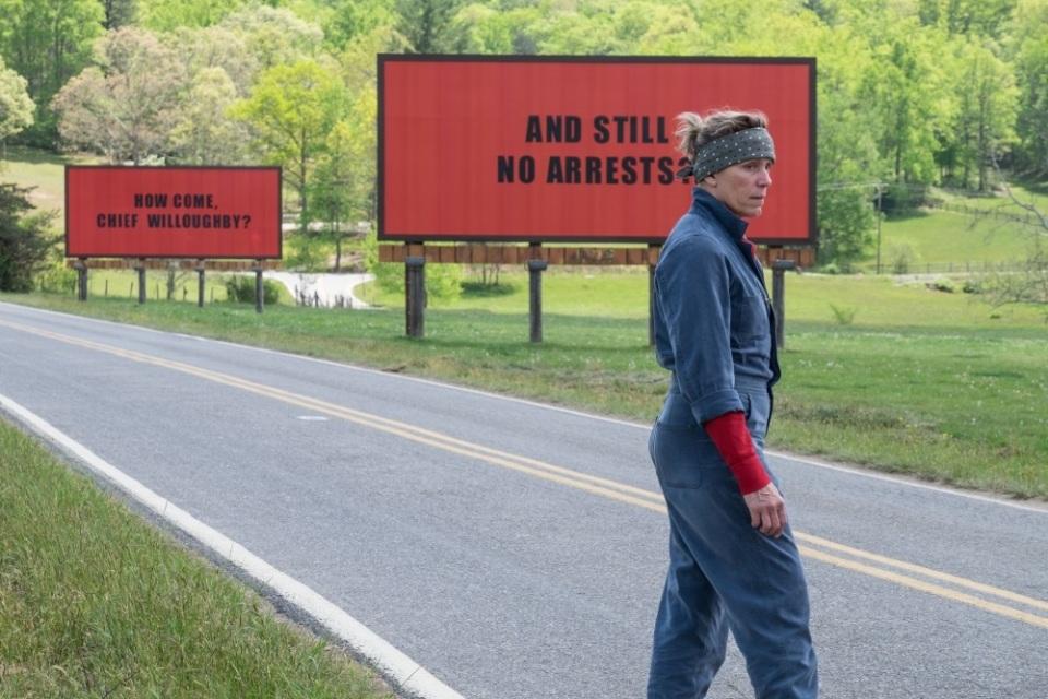 アカデミー賞レース第1弾|衝撃のクライム・サスペンス「スリー・ビルボード」 1番目の画像
