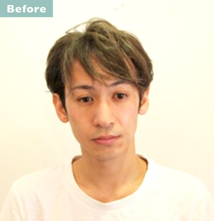 【プロが監修】薄毛をカバーできる髪型に変身!ハゲのタイプ別ヘアカタログ「広いおでこ」 2番目の画像