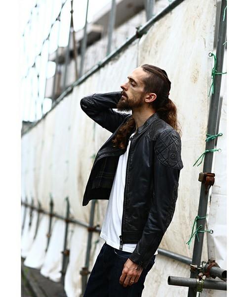 大人のライダースジャケット着こなし術。ライダースジャケットを使ったおすすめコーデ10選 2番目の画像