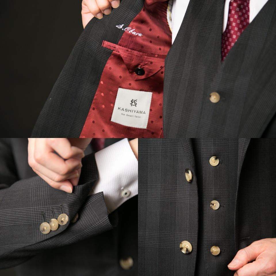 新卒営業マンが3万円からオーダーメイドスーツがつくれる「スマートテーラー」でビシっと大変身! 17番目の画像