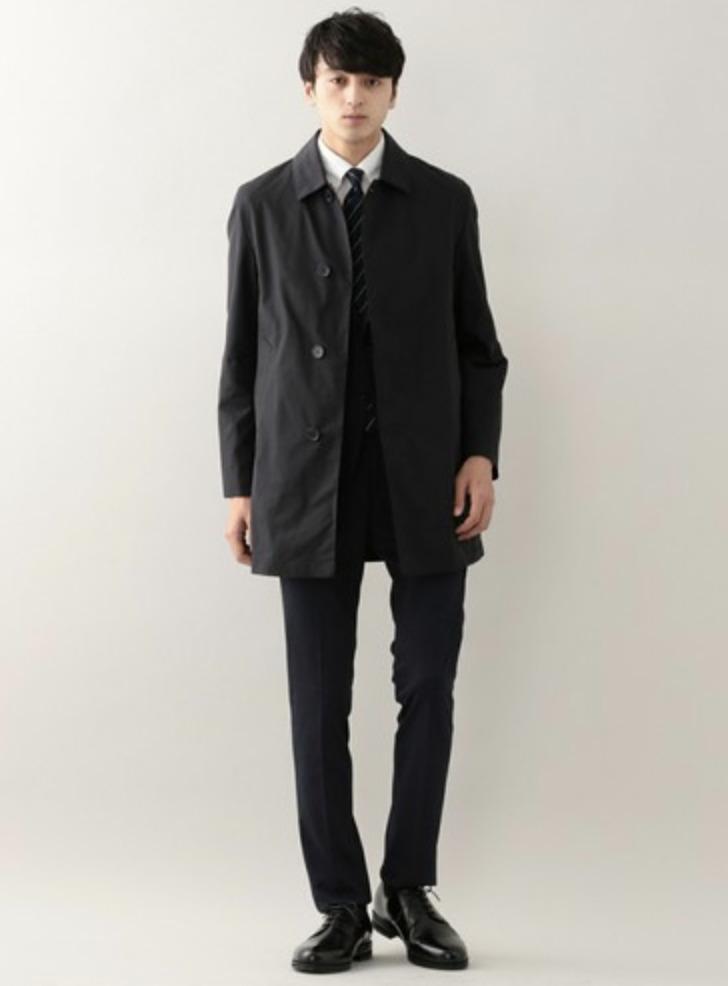 メンズスプリングコートの着こなし&着回せるコートを選ぶコツ【ビジネス兼用】 16番目の画像