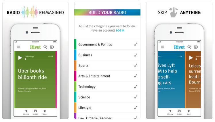 """情報は""""見る""""ではなく""""聞く""""時代!パーソナライズされた音声ニュースを配信してくれるアプリが登場 1番目の画像"""