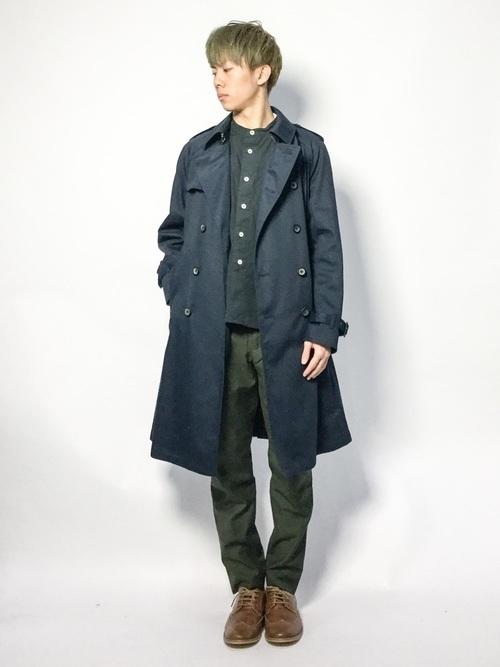 メンズスプリングコートの着こなし&着回せるコートを選ぶコツ【ビジネス兼用】 6番目の画像