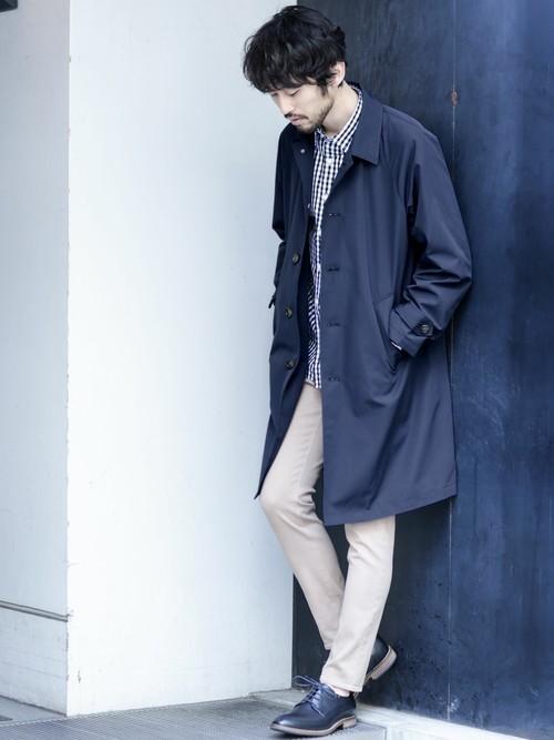 メンズスプリングコートの着こなし&着回せるコートを選ぶコツ【ビジネス兼用】 18番目の画像
