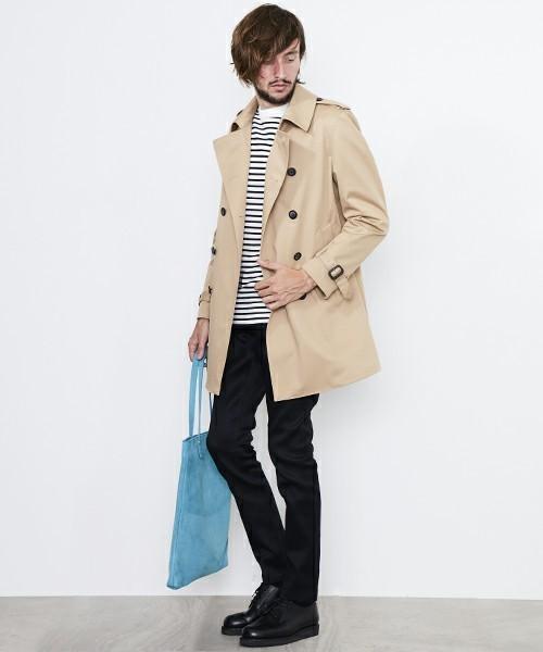 メンズスプリングコートの着こなし&着回せるコートを選ぶコツ【ビジネス兼用】 19番目の画像