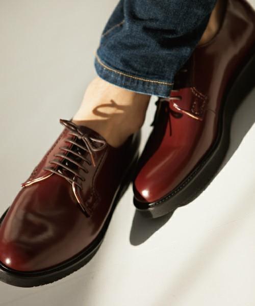 HARUTA「スポックシューズ」で革靴デビュー!着こなし力抜群な革靴の魅力を徹底解剖 3番目の画像