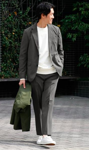 オンオフ使える大人の定番「セットアップ」:厳選5ブランドのおすすめアイテム&着こなし術 4番目の画像