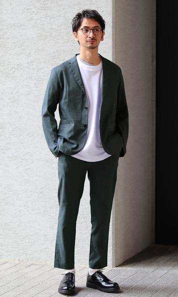 オンオフ使える大人の定番「セットアップ」:厳選5ブランドのおすすめアイテム&着こなし術 14番目の画像