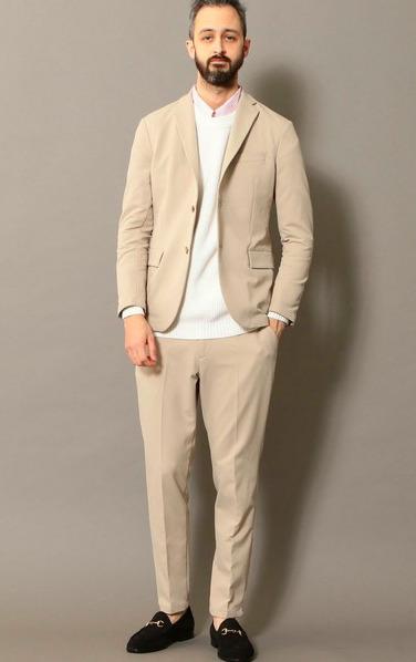 オンオフ使える大人の定番「セットアップ」:厳選5ブランドのおすすめアイテム&着こなし術 18番目の画像