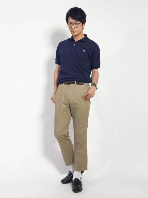 ポロシャツ選びのコツは「生地」にあり!大人メンズのポロシャツコーデ18選 7番目の画像