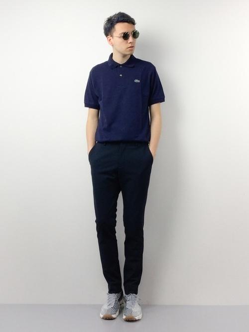 ポロシャツ選びのコツは「生地」にあり!大人メンズのポロシャツコーデ18選 6番目の画像